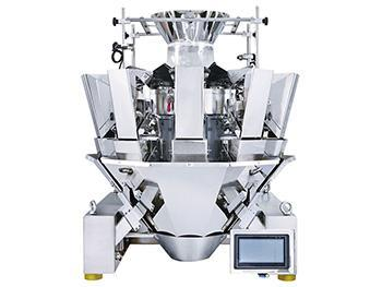 Standard Multihead Weigher for free flow products (Optional 10 heads, 12 heads, 14 heads; 10-1000g,10-1500g,100-3000g;  1.6L,2.5L,5L)