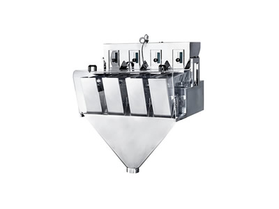 JW-AX4 Four Heads Linear Weigher Stainless Steel Machine,50-2000g,3L