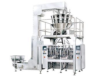 JW-LCX2 Twin Tube Vertical Bagging System,with 14 heads weigher, double discharge outlet