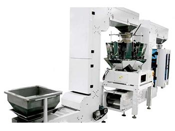 JW-LCX3 Form, Fill and Seal Bagging System,with 14 heads weigher