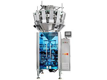 JW-LCX6 Automatic Vertical Form Fill and Seal Machine, with 10 or 14 heads weigher